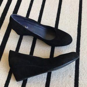 Vaneli Suede Wedge Shoes